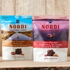 Fazer Nordi Dark Chocolate Lingonberry, Oat Crumble Almond, & Sea Salt Snacking Thins