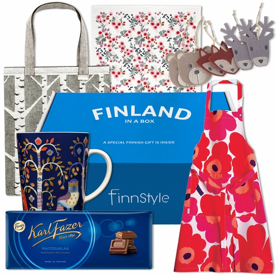 Finland in a Box Holiday Gift Set