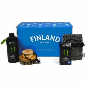 Finland in a Box Sauna Gift Set