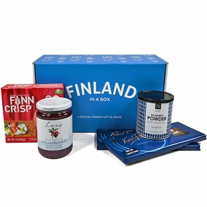 Finland in a Box Taste of Finland Gift Set