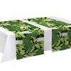 Finlayson Bunaken Black / Green Table Runner