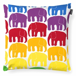 Finlayson Elefantti Multicolor Throw Pillow