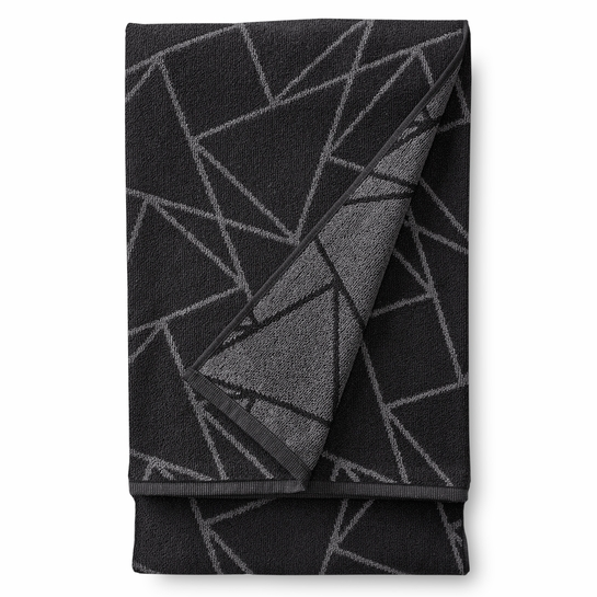 Finlayson Kronos Black Bath Towel