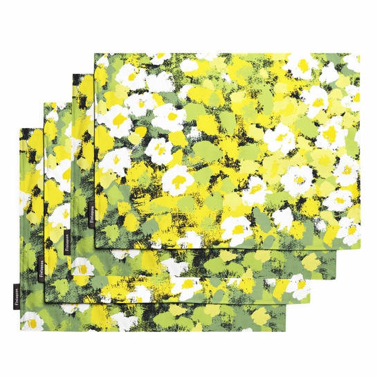 Finlayson Leinikki Yellow Placemats (Set of 4)