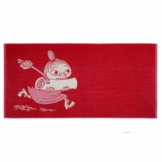 Finlayson Little My Red Bath Towel