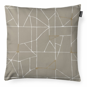 Finlayson Loisto Beige / White / Gold Throw Pillow