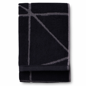 Finlayson Loisto Black Bath Towel