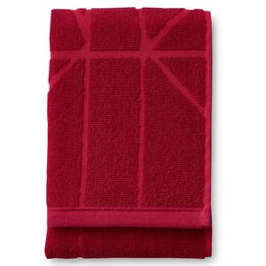 Finlayson Loisto Red Bath Towel