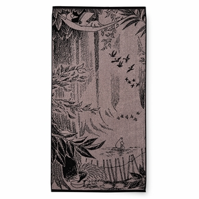 Finlayson Moomin Forest Rose Bath Towel