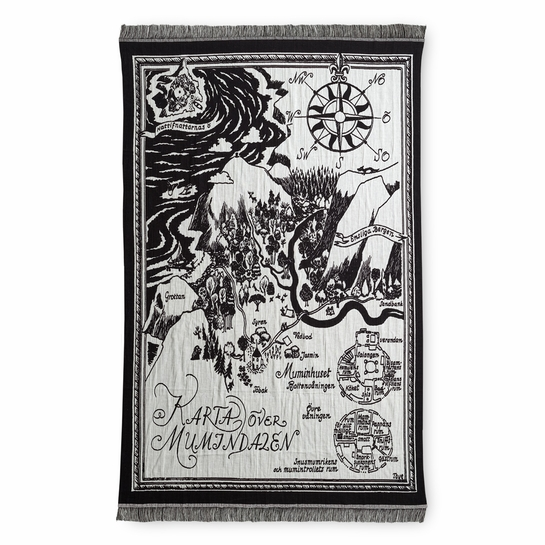 Finlayson Moomin Map Reversible Blanket