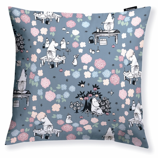 Finlayson Moominmamma Dreaming Throw Pillow