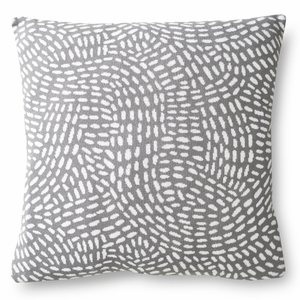 Finlayson Pilkkuva Grey / White Throw Pillow