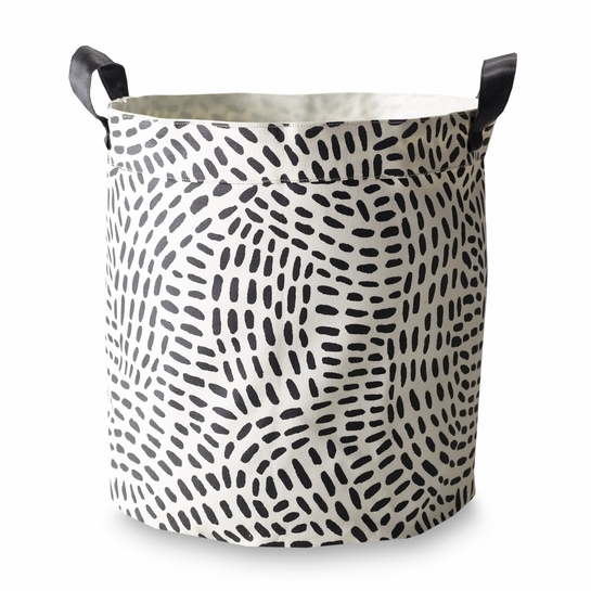 Finlayson Pilkkuva Small Canvas Basket