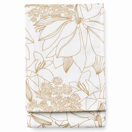 Finlayson Ritarinkukka Gold Tablecloth