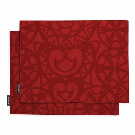 Finlayson Rosetti Red Placemat Set