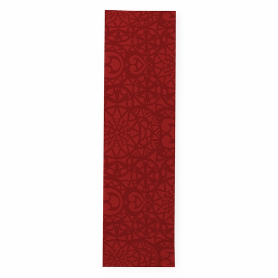 Finlayson Rosetti Red Table Runner