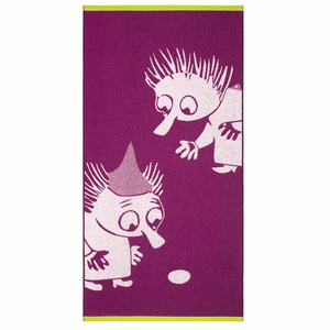 Finlayson Thingumy & Bob Fuchsia Bath Towel