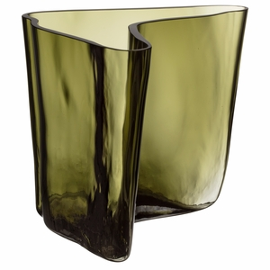 iittala Aalto 2021 Limited Edition Moss Green Vase