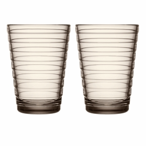iittala Aino Aalto Linen Large Tumblers - Set of 2