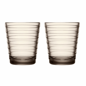 iittala Aino Aalto Linen Medium Tumblers - Set of 2