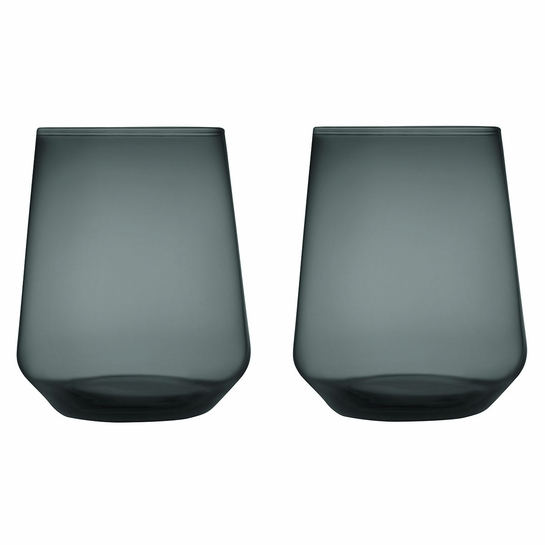 iittala Essence Dark Grey Tumbler - Set of 2