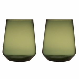 iittala Essence Moss Green Tumbler - Set of 2