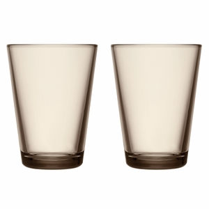 iittala Kartio Linen Large Tumblers - Set of 2
