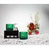 iittala Kastehelmi Emerald Candle Holder