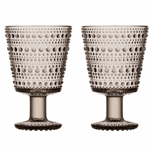 iittala Kastehelmi Linen Universal Glass - Set of 2