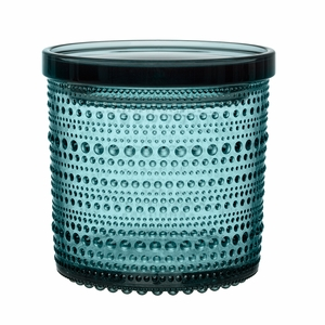 iittala Kastehelmi Sea Blue Large Jar
