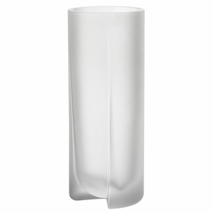 iittala Kuru Frosted Clear Glass Vase