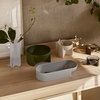 iittala Kuru Light Grey Ceramic Interior Bowl