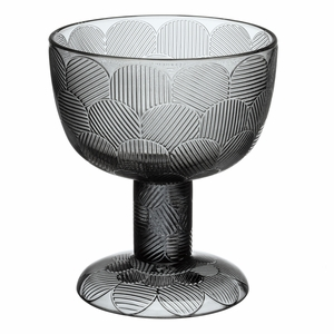 iittala Miranda Grey Footed Bowl