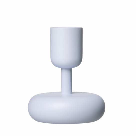iittala Nappula Aqua Short Candle Holder