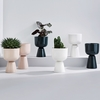 iittala Nappula Dark Green Short Plant Pot