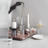 iittala Nappula Grey Pillar Candle Holder