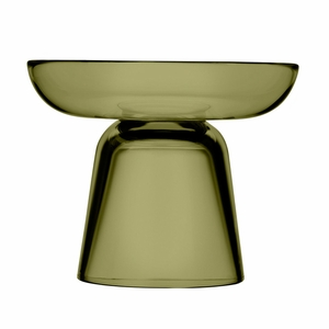 iittala Nappula Moss Green Pillar Candle Holder