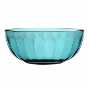 iittala Raami Sea Blue Glass Bowl