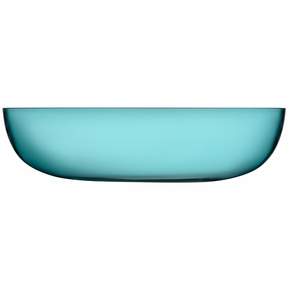 iittala Raami Sea Blue Glass Serving Bowl