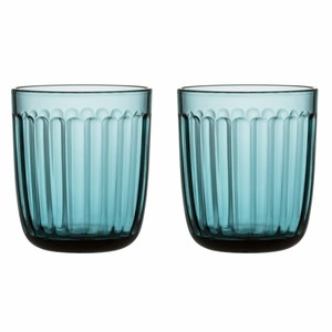 iittala Raami Sea Blue Tumblers (Set of 2)