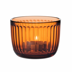 iittala Raami Seville Orange Candle Holder