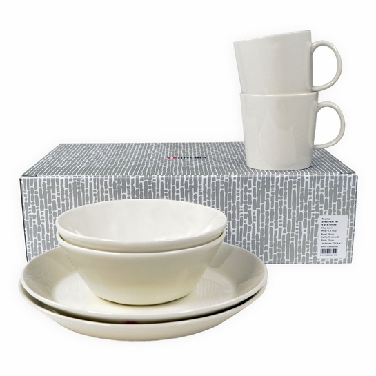 iittala Teema White 6pc Breakfast Gift Set