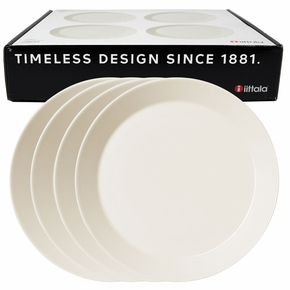 iittala Teema White Dinner Plate Boxed Set of 4