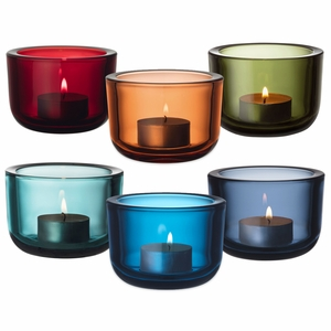 iittala Valkea Color Lover's Candle Holders - Set of 6