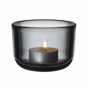 iittala Valkea Grey Tealight Candle Holder