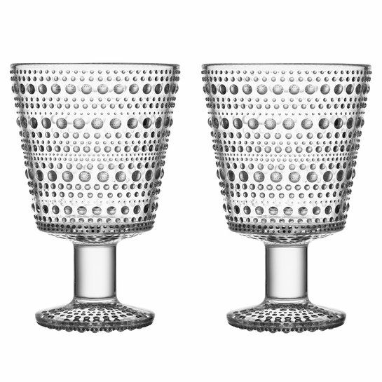 ittala Kastehelmi Clear Universal Glass - Set of 2