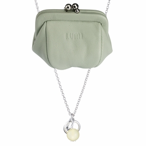 Kalevala Dawn Mint Necklace + Pouch Set