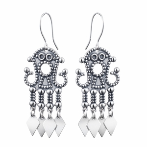 Kalevala Petsamo Silver Earrings