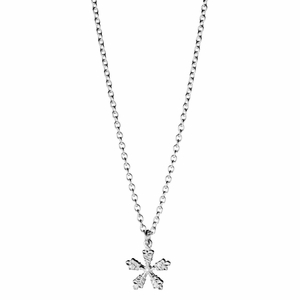 Kalevala Snow Crystal Silver Necklace