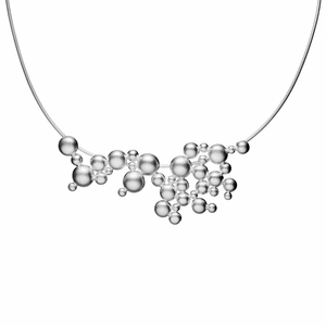 Kalevala Winter Pearl Silver Necklace